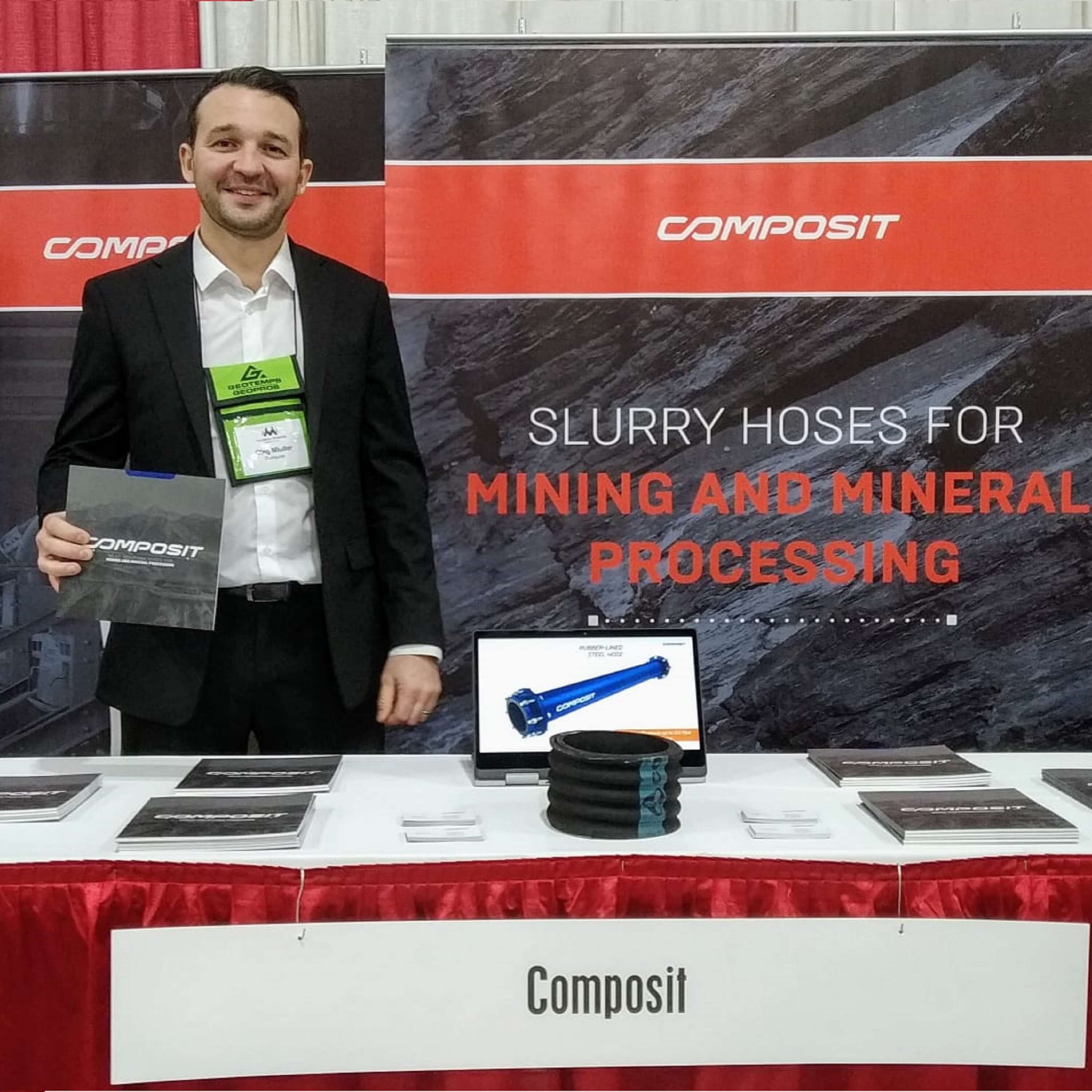 Composit на мероприятии the Annual Alaska Miners Association Convention and Trade show